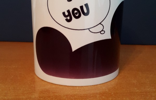 "Taza Sublimada ""I Love You"""