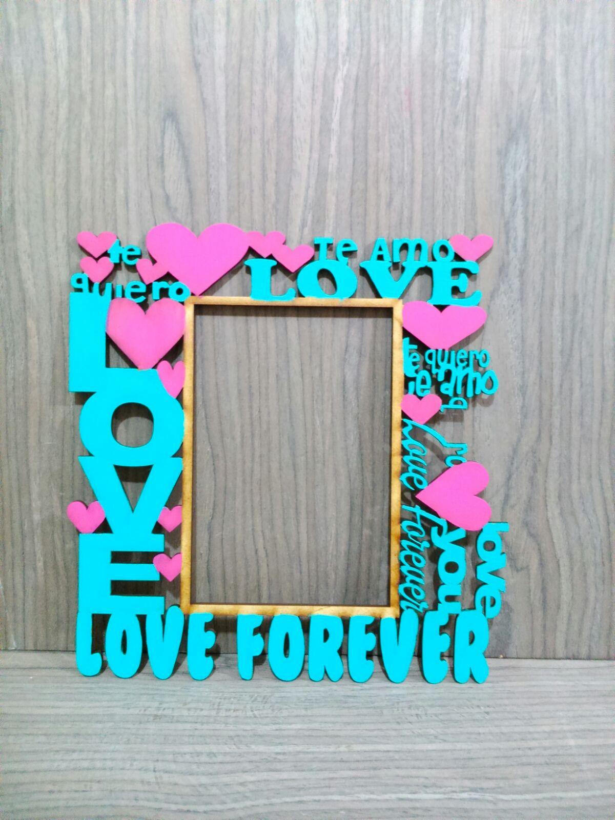 Portaretrato love forever mdf corte l ser en m xico df for Articulos de decoracion por catalogo