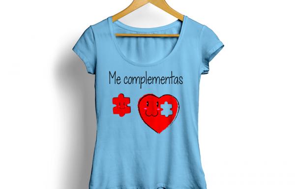 Playeras para novios personalizadas – Me complementas | LáseryCNC
