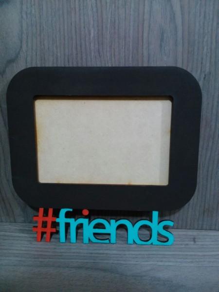 PORTARETRATOS #friends MDF