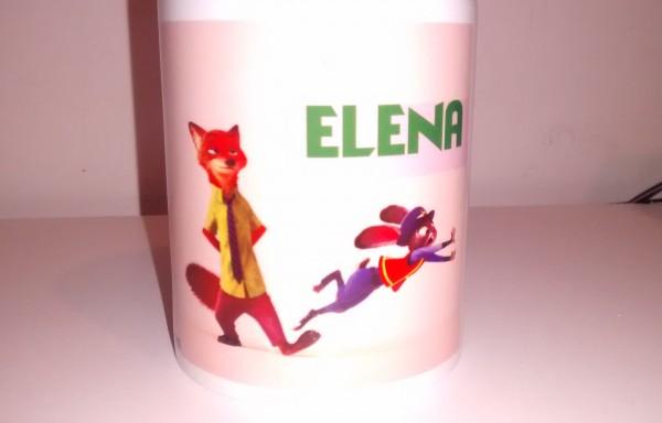 """Taza sublimada de cerámica """"Zootopia"""""""