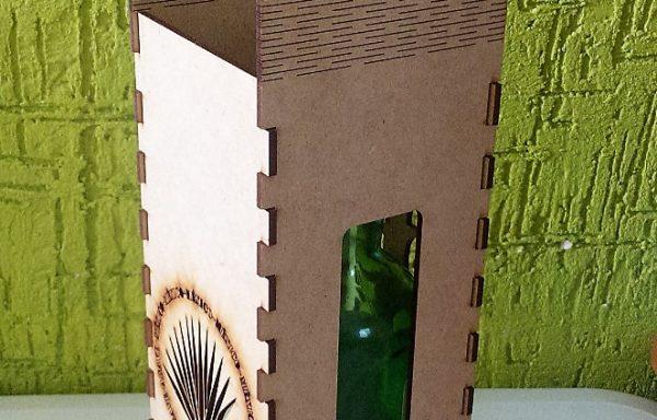 Caja para Vino personalizada MDF